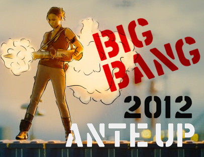 ante up losers big bang banner